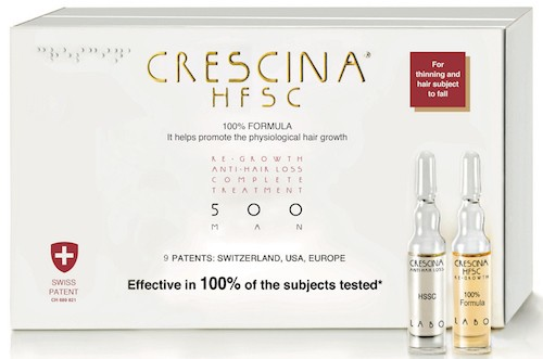 Crescina HFSC hair growth product