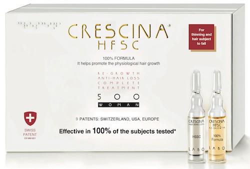 Crescina hair loss treatment