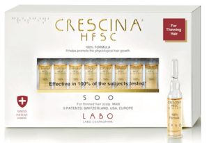 Crescina HFSC 100% Formula Treatment-500 MAN