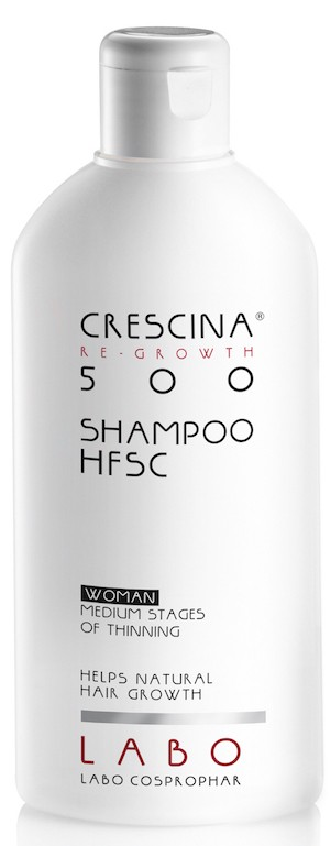 Crescina hair regrowth shampoo