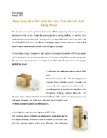 Anti Aging Products and Creams – Labo Transdermic Press Release