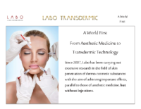 Labo Transdermic Facial Treatment and Dermo Cosmetic care